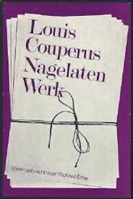 Nagelaten werk - L. Couperus, Richard Erbe (ISBN 9789023213031)