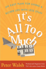 It's All Too Much - Peter Walsh (ISBN 9780743292641)