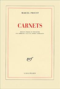 Carnets - Marcel Proust (ISBN 9782070762002)