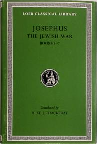 Jewish War - Books V-VII L210 V 4 (Trans. Thackeray)(Greek)(See also L203/487) - Josephus (ISBN 9780674995697)