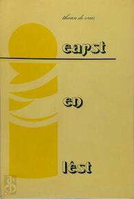 Earst en lêst - Theun de Vries (ISBN 9062720218)