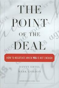 The Point of the Deal - Mark Danny ; Gordon Ertel (ISBN 9781422102336)