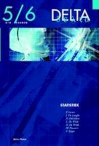 Delta 5/6 Statistiek (6/8 u) (incl. cd-rom) - J. e.a. Gevers (ISBN 9789030177593)