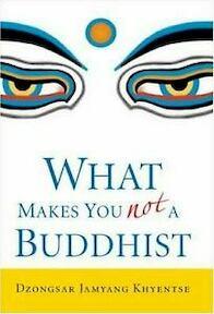 What Makes You Not a Buddhist - Dzongsar Jamyang Khyentse (ISBN 9781590304068)