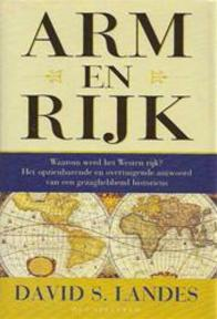 Arm en rijk - David S. Landes (ISBN 9789027491060)