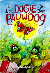 Dagje pauwoog + 16 stickers - Marc de Bel (ISBN 9789065657640)