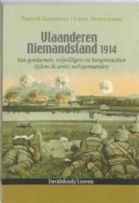 Vlaanderen Niemandsland 1914 - Patrick Goossens, Lieve Meiresonne (ISBN 9789058266149)