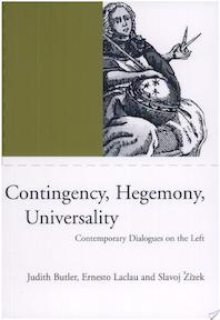 Contingency, Hegemony, Universality - Judith Butler, Ernesto Laclau, Slavoj Zizek, Slavoj Žižek (ISBN 9781859842782)