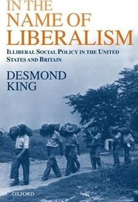 In The Name of Liberalism : Illiberal Social Policy in the USA and Britain - Desmond King (ISBN 9780198296294)