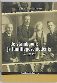 Je stamboom, je familiegeschiedenis - Johan Roelstraete (ISBN 9789058263957)