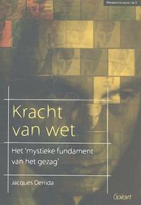Kracht van wet - Jacques Derrida (ISBN 9789044130133)