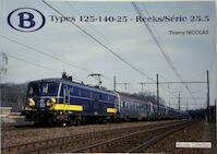 Types 125-140-25 - Reeks/Série 25.5 - Thierry Nicolas (ISBN 9782930748214)