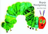 Rupsje Nooigenoeg prentenboek en kleurboek - Eric Carle (ISBN 9789025742911)