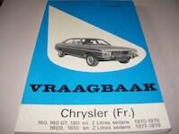 Vraagbaak voor uw Chrysler (Fr.) - L.N. Keff, Olyslager Organisation (ISBN 9789020110579)