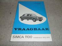 Vraagbaak voor uw Simca 1100 - L.N. Keff, Olyslager Organisation B.V. (ISBN 9789020109474)