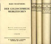 Der goldschmiede Merkzeichen - Marc Rosenberg