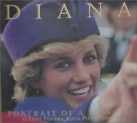 Diana, potrait og a princess - Jayne Fincher (ISBN 9783822876305)