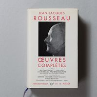 Oeuvres complètes Tome I - Jean-Jacques Rousseau
