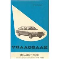 Vraagbaak renault / 20/30 - Piet Olyslager (ISBN 9789020118926)