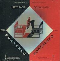 Rodchenko Chess Table / Schaaktafel [bouwplaat] - Rodchenko, Johannes Niemeijer, Chr. Overvoorde (ISBN 9789068680218)