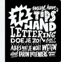 72 tips - Handlettering doe je zo! - Karin Luttenberg (ISBN 9789043920667)