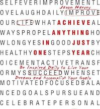 Achieve Anything in Just One Year - J. Harvey (ISBN 9780981363905)