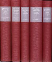 Frühe Schriften. In 5 Bänden - Friedrich Nietzsche (ISBN 9783406380457)