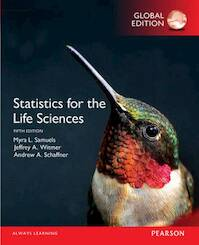 Statistics for the Life Sciences, Global Edition - Myra L. Samuels, Jeffrey A. Witmer, Andrew A. Schaffner (ISBN 9781292101811)