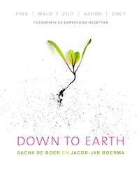 Down to earth - Sacha de Boer, Jacob-Jan Boerma (ISBN 9789000332816)
