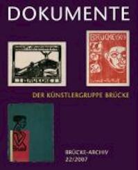 Dokumente der Künstlergruppe Brücke (ISBN 9783777435459)