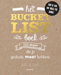 Het Bucketlist-boek - Elise De Rijck (ISBN 9789401423618)