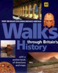 Walks Through Britain's History - Automobile Association (ISBN 9780749531539)