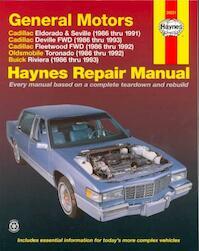 GM Cadillac El Dorado, Seville, Deville, Buick Riviera and Oldsmobile Toronado, 1986-1993 - Motorbooks International (ISBN 9781563923470)