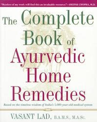 Complete Book of Ayurvedic Home Remedies - Vasant Lad (ISBN 9780609802861)
