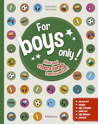 For boys only nieuwe titel - Raphaël Martin, Édith Chambon (ISBN 9789002257971)