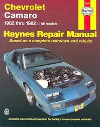 Chevrolet Camaro, 1982-1992 - John B. Raffa, John Harold Haynes (ISBN 9781563920608)