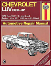 Chevrolet LUV Owners Workshop Manual - John Harold Haynes, Ian M. Coomber (ISBN 9780856969201)