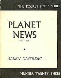 Planet News - Allen Ginsberg (ISBN 0872860205)