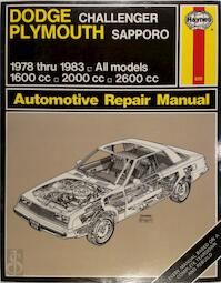 Dodge Challenger & Plymouth Sapporo (78 - 83) (ISBN 0856966991)