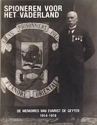 Spioneren voor het vaderland - Evarist De Geyter (ISBN 9789461360120)