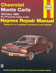 Chevrolet Monte Carlo Automotive Repair Manual - Curt Choate, John Harold Haynes (ISBN 9781850105268)