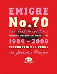 Emigre No 70 - The Look Back Issue - Rudy Vanderlans (ISBN 9781584233671)
