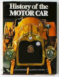 History of the Motor Car - Marco Matteucci (ISBN 9780706402353)