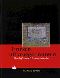 Friezen uit vroeger eeuwen + CD-rom - H. de Walle (ISBN 9789051942866)