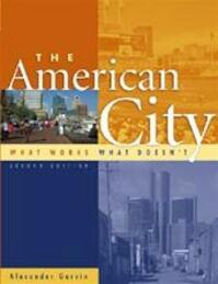 The American City - Alexander Garvin (ISBN 9780071373678)