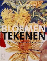 Bloemen tekenen - Margaret Stevens, Karin Pijl, Textcase (ISBN 9789072267795)