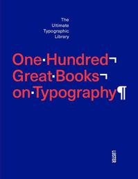 The best books on typography - Agata Toromanoff (ISBN 9789460581854)
