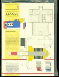 Directiekeet Oud-Mathenesse J.J.P. Oud / Architectuurmodellen 1 [Bouwplaat] - Vollaard (ISBN 9789064500060)