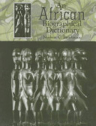 An African Biographical Dictionary - Norbert C. Brockman (ISBN 9780874367485)