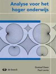 Analyse voor het hoger onderwijs - Staf Deen, Dr. Paul Levrie (ISBN 9789045536132)